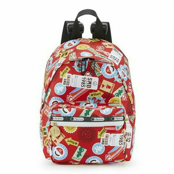 2f10a41ff4fc Handbags - Lesportsac X Nintendo Cruising Backpack  NWOT
